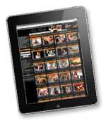 Livestrip am Tablet