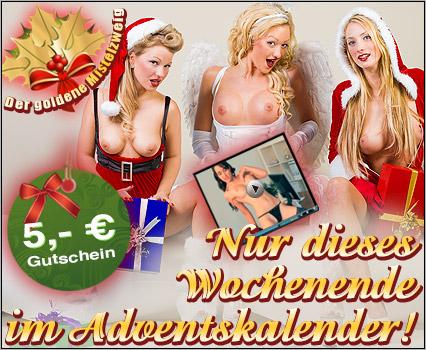 5 Euro im Adventkalender abholen