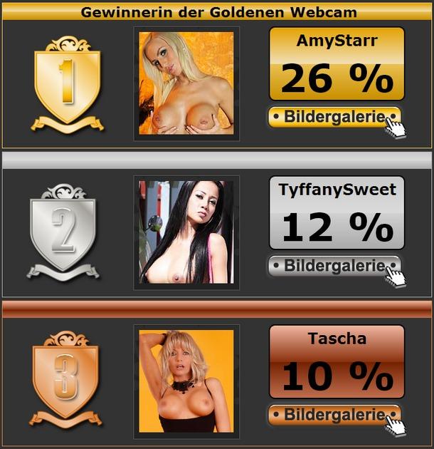 Livestrip Girl des Jahres ist Amystarr