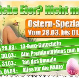 Livestrip Oster Aktionen – Richtig sparen!