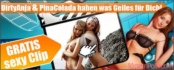 Kostenloses Video von DirtyAnja und PinaColada