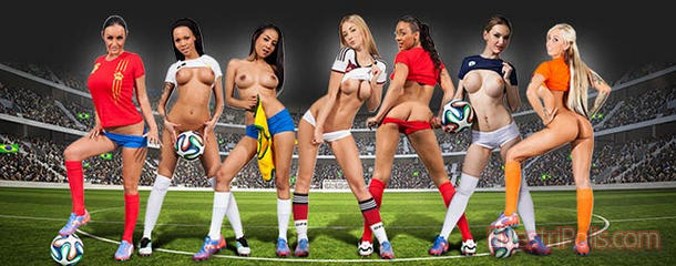 Fussball Camgirls